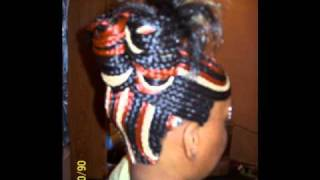 My hair styles braided quick weaves and twist braids