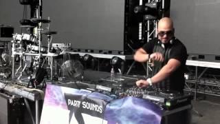 Lotfi Begi @ Balaton Sound 2012 (Bonanza Banzai - Calypso live remix)
