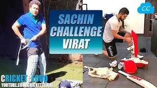 VIRAT vs SACHIN - THE KITUP CHALLENGE !!