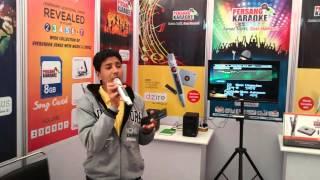 Persang Karaoke Live Demo at Gandhidham Exhibition