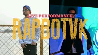 DESIHIPHOP | RAPBOTVK live Performance | BOLLYWOOD x RAP Fusion | INSIGNIA 2K17