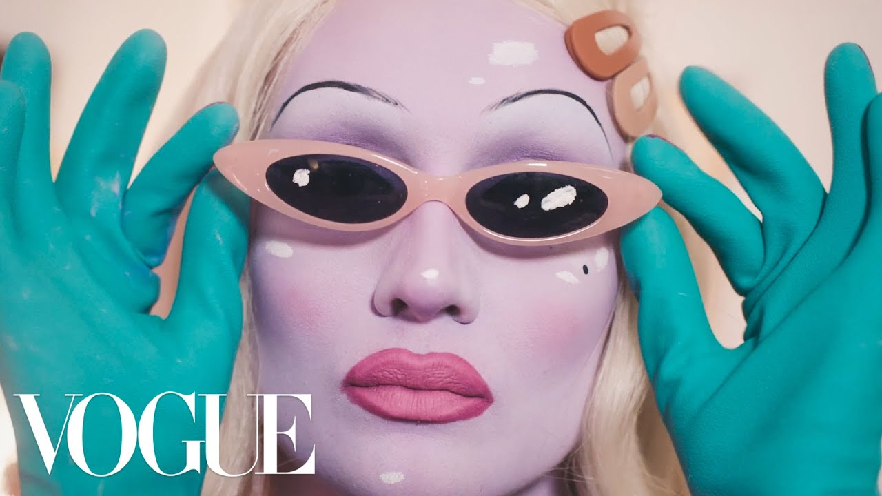 Juno Birch breaks down her Alien Queen Beauty Routine | Extreme Beauty