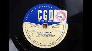 Italian Songs Italian Music - Cirillino Ci by Jula De Palma (CD2T3)