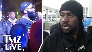 RICK ROSS Says KANYE WEST Faked His 'Meltdown' |  TMZ Live