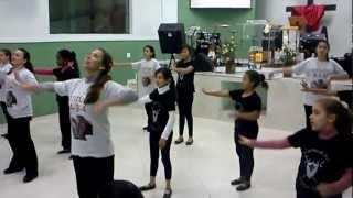 Ministerio de Dança Soldados do Rei Juniores - IEQ Jd. Progresso - Não me Calarei