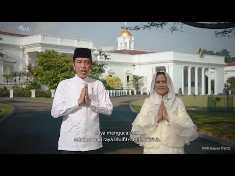 Jokowi: Selamat Idul Fitri, Semoga Indonesia Bangkit dari Covid-19