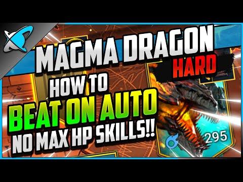 """AUTO & NO MAX HP SKILL"" Kuldath The Magma Dragon | HARD Doom Tower Floor 110 | RAID: Shadow Legends"