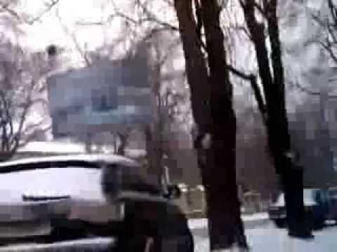 Снег в Одессе 17 декабря 2010