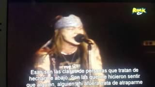 Guns n' Roses - ●Out ta get me● {live at Ritz}