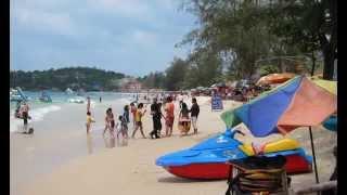 Occheuteal Beach - Sihanoukville city -  Ochheuteal Beach - Sihanoukville Cambodia