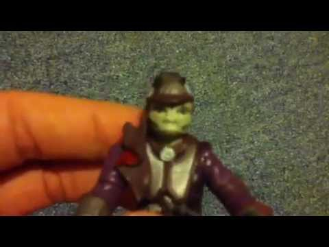 Star Wars The Saga Line Zam Wesell Bounty Hunter Review