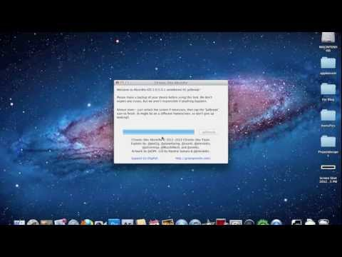 الجيلبريك للآيفون 4 أس والآيباد 2 (النظام 5.0.1)