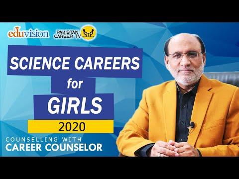 Science Career Options (field) for girls in Pakistan | Girls must Watch | Yousuf Almas