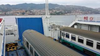 On the Train Ferry from Sicily to Italy 1.