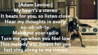 Gym Class Heroes ft Adam Levine   Stereo Hearts Lyrics on screen and description + download ringtone