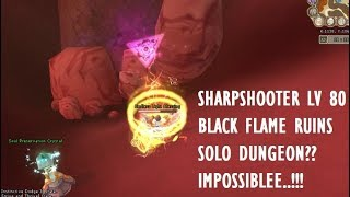 [GRAND FANTASIA] SANCTUM SERVER.. BFR SOLO DUNGEON WITH SHARPSHOOTER????? IMPOSSIBLE !!!!!