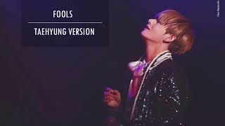 Fools - Taehyung 뷔 (V)version . (Full Fanmade.)