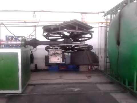 rotasyon makinesi ve üretim