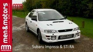 Richard Hammond Reviews The Subaru Impreza & STi RA width=