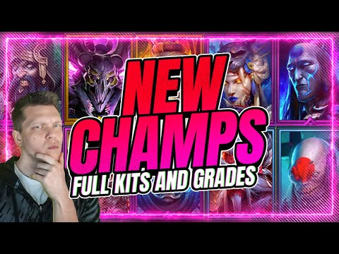 10 NEW CHAMPS! Crazy New Mechanics! | RAID Shadow Legends