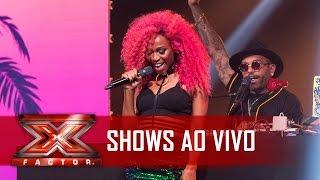 Karol Conká É O PODER   X Factor BR