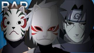 🔴 Rap dos Três Anbu - Kakashi, Itachi e Yamato (Naruto) l Águia l Conjunto 08