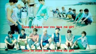 U-KISS - Sweety Girl (eng sub + romanization + hangul)