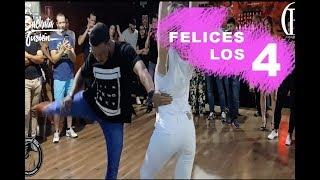 Felices los 4 (Bachata Dj Manuel Citro) Carlos Espinosa y M Angeles