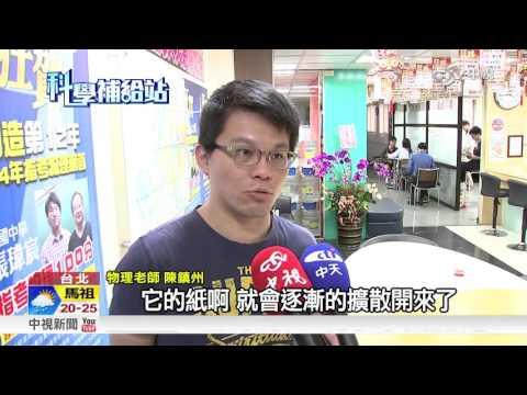 科學補給站~吸管紙套變毛毛蟲!? 毛細現象在作祟│中視新聞20151104 - YouTube