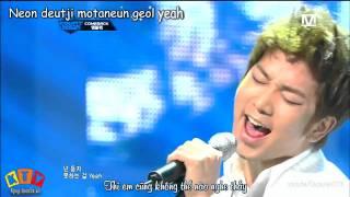 [Vietsub + Kara] Scribble - MBLAQ (live HD)