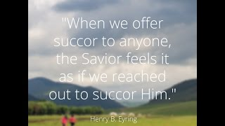 """""""Fast Offerings: A Simple Commandment with a Marvelous Promise,"""" President Henry B  Eyring"""