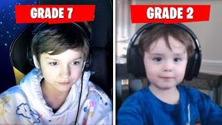 6 Youngest Streamers Who QUIT School For Fortnite