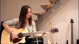 Led Zeppelin - Over the hills and far away Intro (Cover by Chloé)