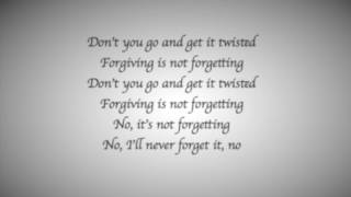 Paramore - Forgiveness lyrics