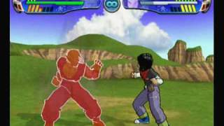 Dragon Ball Z Budokai 3 Krillin and Piccolo Movesets