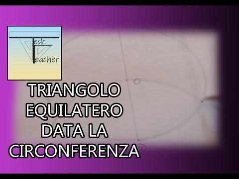 Come Inscrivere Un Triangolo Equilatero In Una Circonferenza Viva
