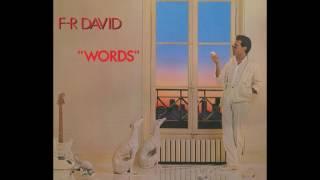 F.R. David - Words (HQ)