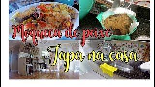 EP322 - TAPA NA CASA - FIZ MOQUECA DE PEIXE #donadecasa #lifestyle