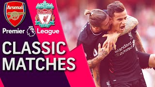 Arsenal v. Liverpool | PREMIER LEAGUE CLASSIC MATCH | 8/14/16 | NBC Sports
