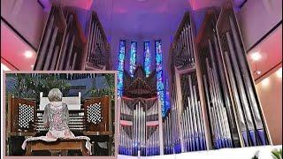 J.S. Bach, Gigue Fugue - Diane Bish