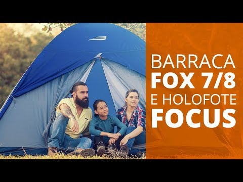 Barraca Fox 5/6 pessoas - Nautika