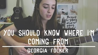 You Should Know Where I'm Coming From - BANKS | Georgia Folker #sundaysessions