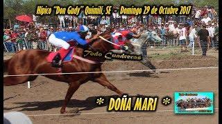 DOÑA MARI - Quimilí (29-10-17)