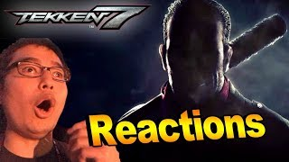 Sean Reacts to Tekken 7 Season 2 EVO 2018 Reveal