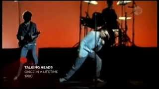 Talking Heads - Once In A Lifetime (1980 official video)