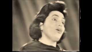 Amália Rodrigues.  Lisboa à noite .Amesterdão 1958