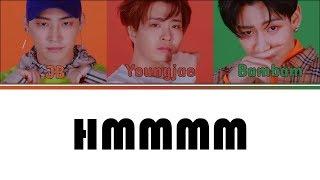 [Color Coded Lyrics] GOT7 - HMMMM [2JaeBam Unit] (Kan/Rom/Eng)