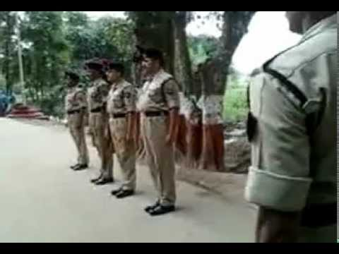 Akhaura Check Post( India-Bangladesh Border) Parade