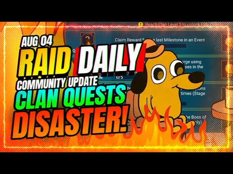 🤦♂️Clan Quests Are A TOXIC DISASTER! | RAID Shadow Legends