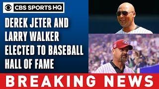 Derek Jeter, Larry Walker head to Cooperstown | Baseball Hall Of Fame 2020 | CBS Sports HQ